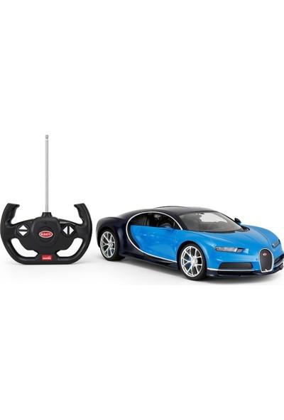 Rastar R/C 1/14 Uzaktan Kumandalı Bugatti Chiron Işıklı Araba - Mavi