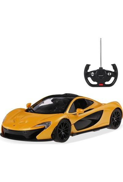 Rastar R/C 1/14 Uzaktan Kumandalı Kapıları Açılan McLaren P1 Işıklı Araba - Sarı