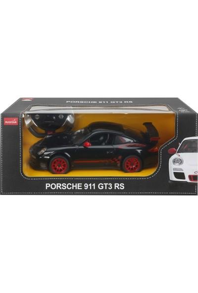 Rastar R/C 1/14 Uzaktan Kumandalı Porsche 911 GT3 RS Işıklı Araba - Siyah