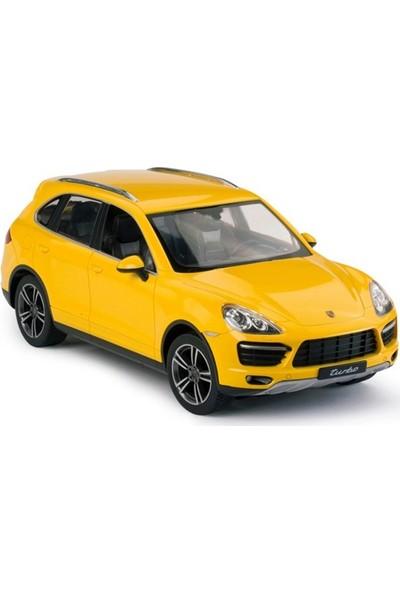 Rastar R/C 1/14 Uzaktan Kumandalı Porsche Cayenne Turbo Işıklı Araba - Sarı