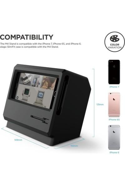 Elago M4 iPhone 6/6S/7/8 Modelleri İle Uyumlu Şarj Standı - Siyah