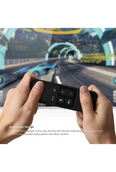 Elago Apple TV Siri Remote (Kumanda) İçin Silikon Kılıf - Siyah