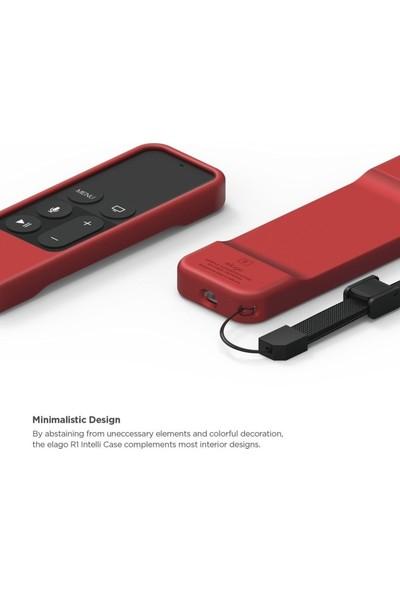 Elago Apple TV Siri Remote (Kumanda) İçin Silikon Kılıf - Kırmızı