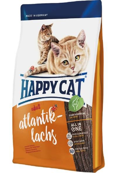 Happy Cat Atlantic Lachs Somonlu Yetişkin Kedi Maması 4 Kg