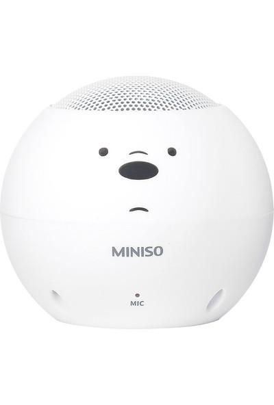 Miniso Ice Bear Mini Kablosuz Hoparlör