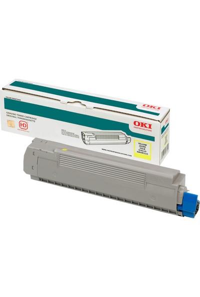 OKI C332/MC363 1500 Sayfa Sarı Toner 46508737