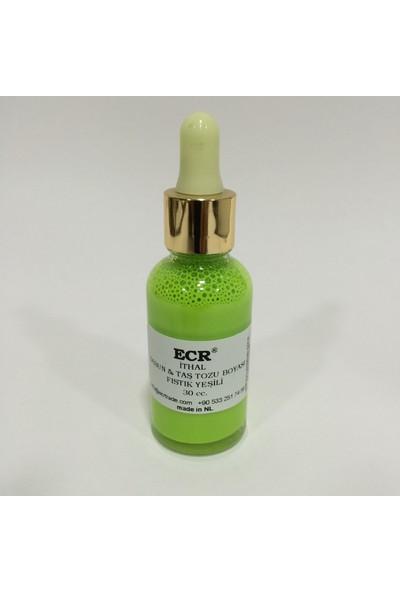 Ecr Sabun, Taş Tozu Ve Epoksi Boyası Fıstık Yeşili