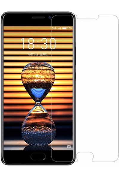 Microcase Meizu Pro 7 Plus Nano Glass Ekran Koruma Esnek Cam Filmi