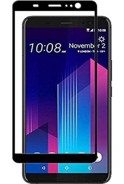 Microcase HTC U11 Plus Tam Kaplayan Çerçeveli Tempered Ekran Koruyucu