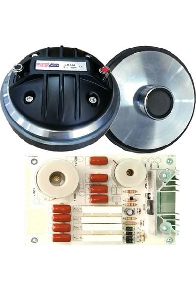 Lastvoice Ld 544 Tweeter Driver + Crossover Filtre Set