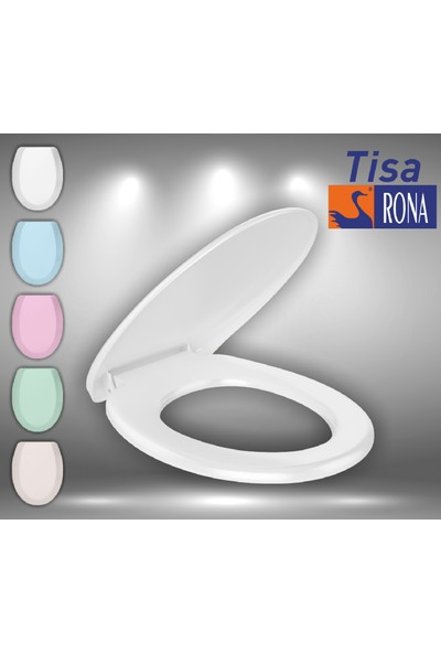 Rona Tisa ThermoPlast Standart Klozet Kapağı (Alttan Monte)