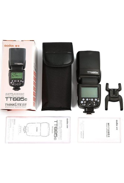 Godox TT685C ( Canon Uyumlu TTL Flaş )