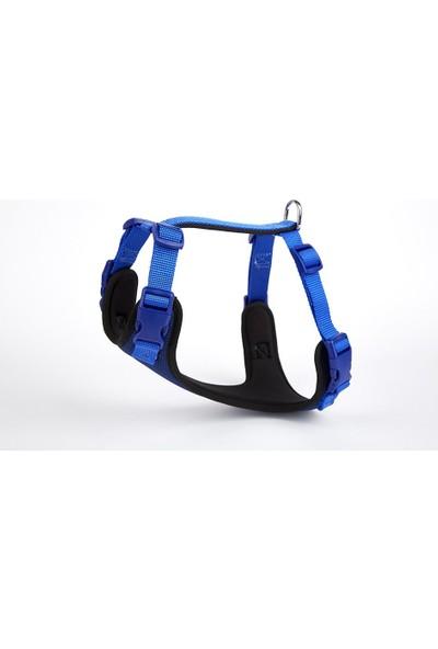 Doggie Havalı Köpek Göğüs Tasması 30X35 Cm Mavi