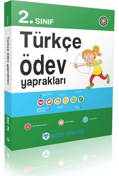 Mutlu Yayınları 2. Sınıf Türkçe Ödev Yaprakları