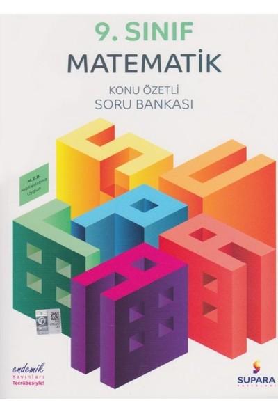Supara 9. Sınıf Konu Özetli Matematik Soru Bankası - Lise - Supara Yayınları (B)