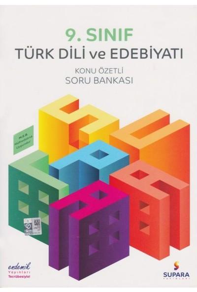 Supara 9. Sınıf Konu Özetli Türk Dili Ve Edebiyatı Soru Bankası - Lise - Supara Yayınları (B)