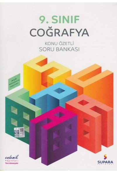 Supara 9. Sınıf Konu Özetli Coğrafya Soru Bankası - Lise - Supara Yayınları (B)