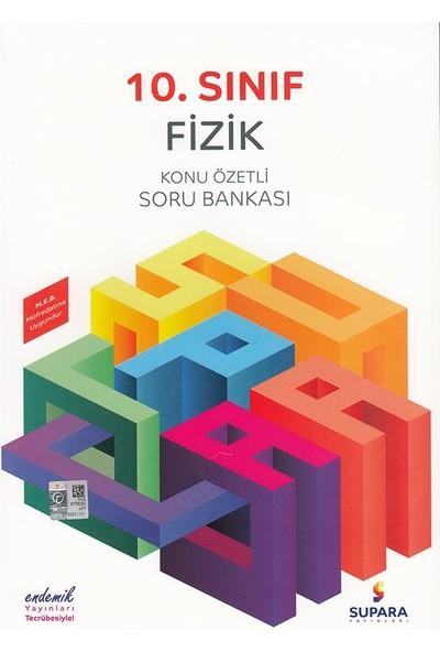 Supara 10. Sınıf Konu Özetli Fizik Soru Bankası - Lise - Supara Yayınları (B)