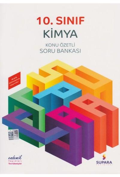 Supara 10. Sınıf Konu Özetli Kimya Soru Bankası - Lise - Supara Yayınları (B)