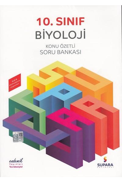 Supara 10. Sınıf Konu Özetli Biyoloji Soru Bankası - Lise - Supara Yayınları (B)