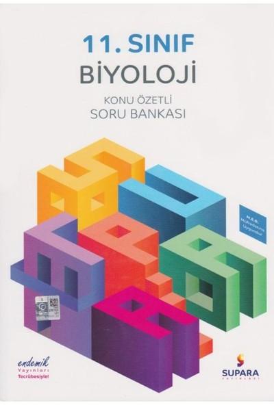 Supara 11. Sınıf Konu Özetli Biyoloji Soru Bankası - Lise - Supara Yayınları (B)