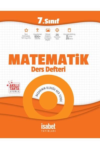 7. Sınıf Matematik Ders Defteri - Ortaokul - İsabet Yayınları