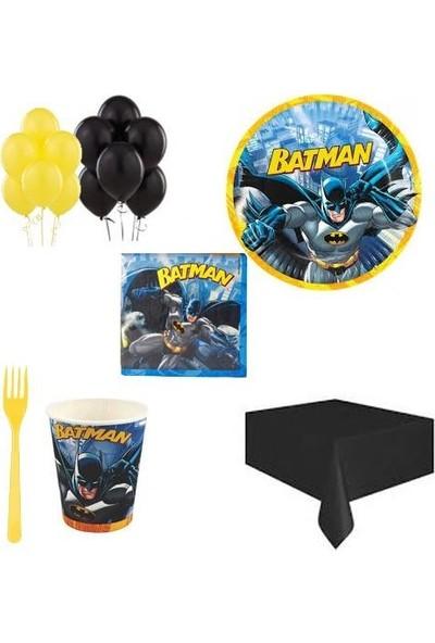 Balonpark 16 Kişilik Batman Doğum Günü Temalı Parti Konsepti Malzemeleri