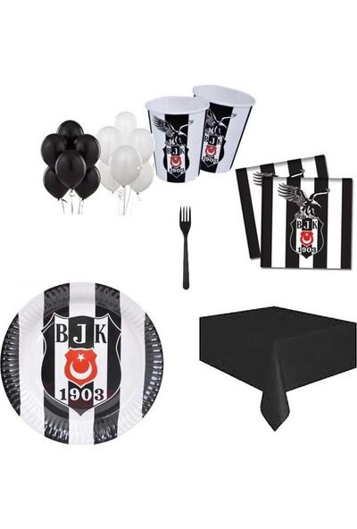 Balonpark 24 Kişilik Beşiktaş Doğum Günü Paketi Parti Konsepti Süsleri