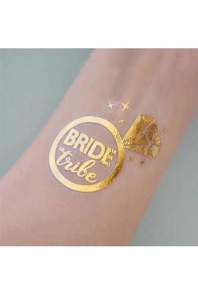 Balonpark 10 Ad Team Bride Geçici Dövme Bekarlığa Veda Bride To Be Dövmesi