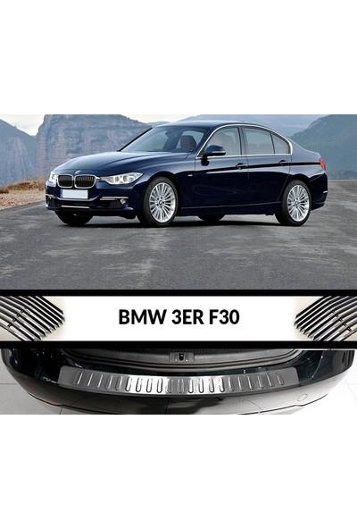 Arabamsekil Bmw 3 Serisi F30 Krom Arka Tampon Eşiği 2011-