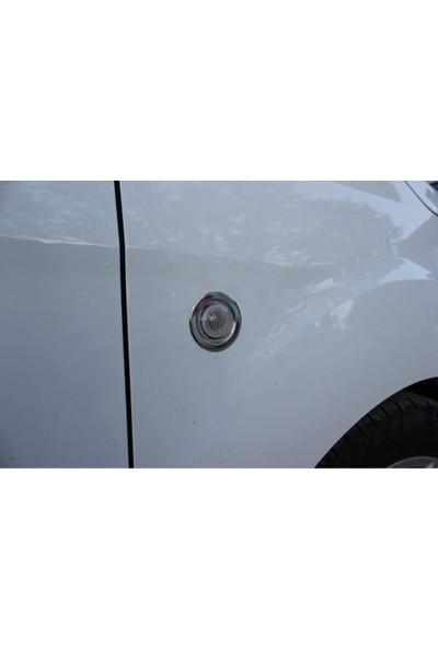 Arabamsekil Ford Courier Krom Sinyal Çerçevesi 2015-