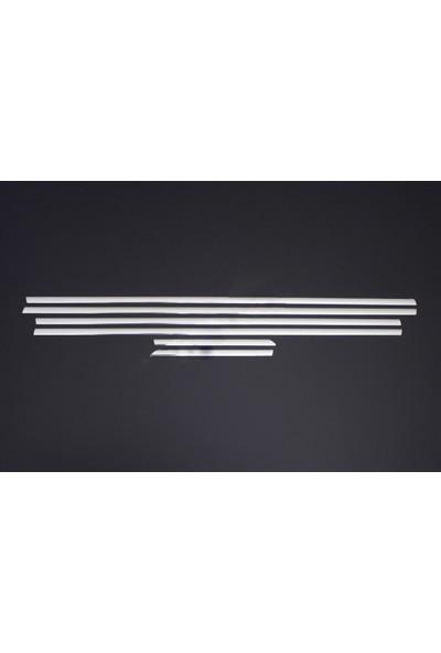 Spider Chevrolet Cruze Cam Çıtası 6 Parça Paslanmaz Çelik Sedan 2009 Üzeri Modeller