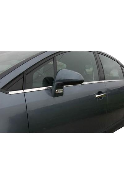 ArabamSekil Citroen C4 HB Cam Çıtası 8 Parça Paslanmaz Çelik 2003-2009