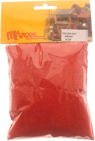 Mk Model Mk Model Toz Çim 42Gr - 1017 Kırmızı