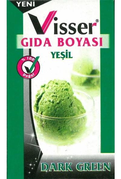 Hobi24 Visser Toz Gıda Boyası 9 Gram - Yeşil