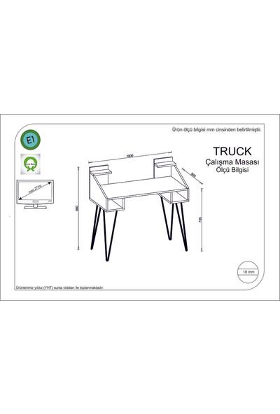 Rafline Truck Çalışma Masası Yeşil