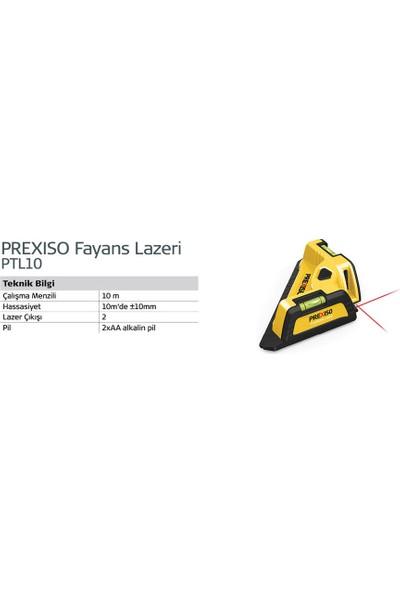 Prexiso PLT10 Fayans Lazeri 10 metre