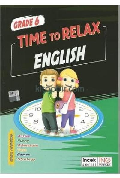 İnovasyon Yayınları 6. Sınıf Time To Relax English