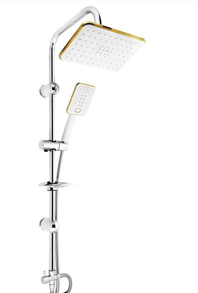 Vilas Atlantis Gold Robot Tepe Ve Yağmurlama Duş Seti