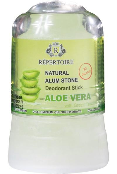 Madame Coco Alum Taşı - Doğal Kristal Deodorant 45 g Aloe Vera ve Yeşil Çay