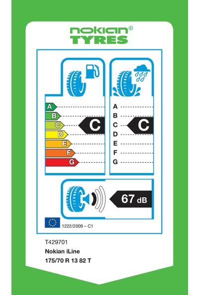 Nokian iLine 175/70 R13 82T Yaz Lastiği (Üretim Yılı: 2020)