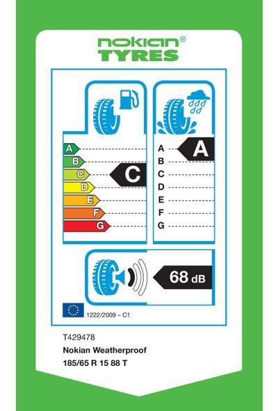 Nokian Weatherproof 185/65 R15 88T 4 Mevsim Lastiği (Üretim Yılı: 2020)