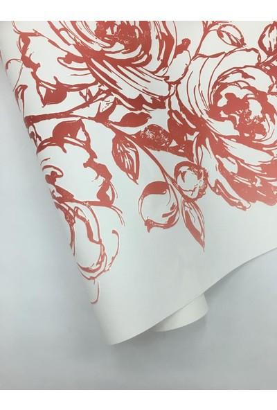 264565 AS Creation Çiçek Desenli Duvar Kağıdı