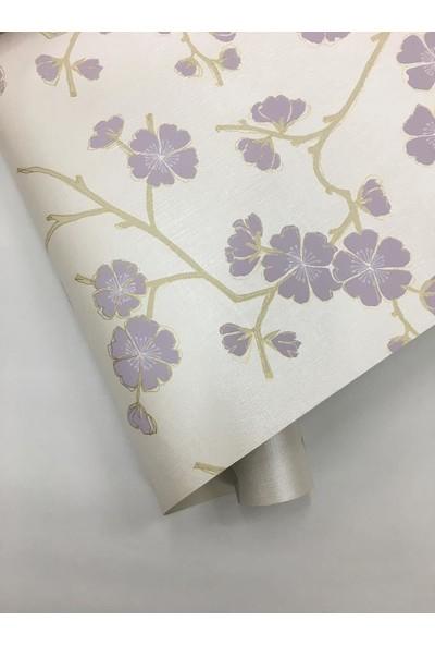 293049 Grandeco Çiçek Desenli Duvar Kağıdı