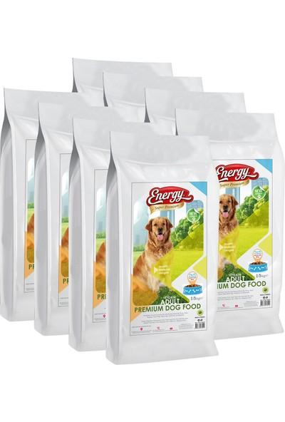 Energy Premium Kuzulu & Pirinçli Köpek Maması - 120 kg - 8 Paket