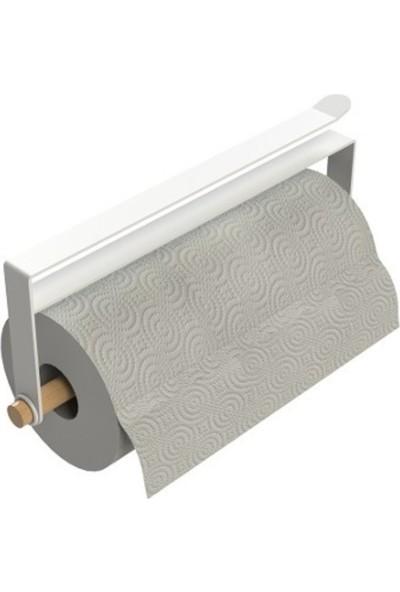 Bianco Perla Ahşaplı Kağıt Havluluk