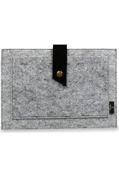 Freyja Keçe ve Deri iPad Tablet Kılıfı - Siyah