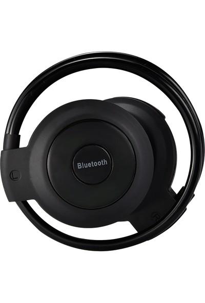 Twinix Hafıza Kart Girişli Bluetooth Kulaklık - Siyah