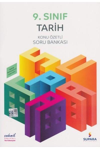 Supara 9. Sınıf Konu Özetli Tarih Soru Bankası - Lise - Supara Yayınları (B)