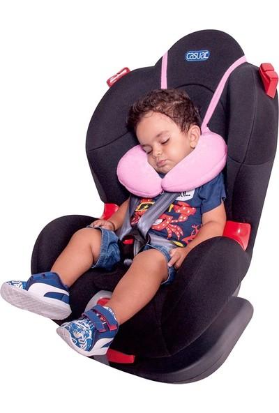 Sevi Bebe Ayarlanabilir Bebek Boyun Koruyucu Pembe